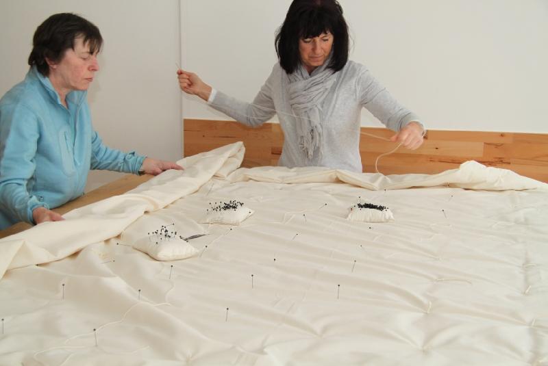 Blick in Frau Wolle's Manufaktur 2