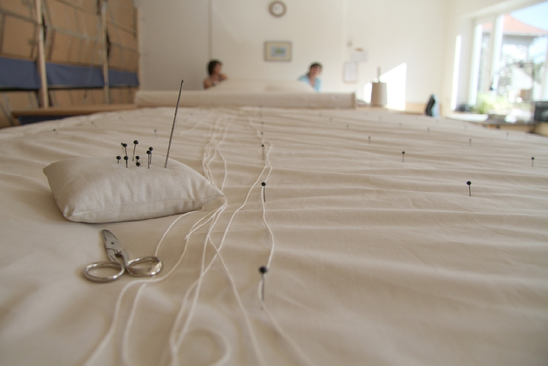 Blick in Frau Wolle's Manufaktur 3